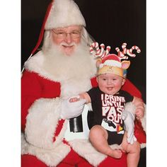 Pin for Later: Photos of Kids on Santa's Lap Just Never Get Old