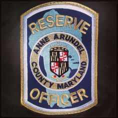 Anne Arundel County Police Reserve Officer patch