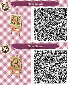 Acnl qr codes paterne acnl pinterest ville chemins for Meubles japonais acnl