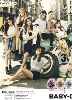 baby g scan magazine ceci - snsd : taeyeon sunny tiffany hyoyeon yuri sooyoung yoona seohyun