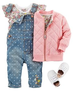 Ideas For Baby Clothes Girl Carters Little Girl Outfits, Little Girl Fashion, Toddler Fashion, Toddler Outfits, Kids Fashion, Toddler Girl Shoes, Toddler Toys, Cheap Fashion, Toddler Girls