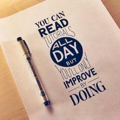 Wanneer stop je met lezen en uitdenken en ga je aan de slag met je dromen en plannen? #ennuaandeslag