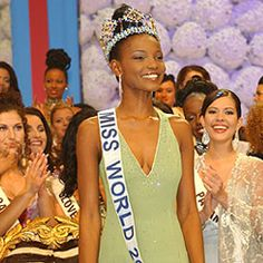 Miss World 2001 Winner Photos, Pictures of Agbani Darego Ms World 2001. | Tips on Interview