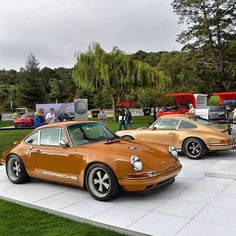 Anyone see our display at the Quail Motorsports Gathering in Monterey last month featuring our two latest cars? #singervehicledesign #singer #porsche #porsche911 #handbuilt #everythingmatters #montereycarweek #montereylocals - posted by seb's lifestyle https://www.instagram.com/seblifestyle - See more of Monterey Car Shows at http://montereycarshows.com