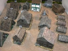 How to make and paint Wooden Buildings for 15mm Wargaming « Steven's Balagan