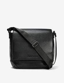 ARMANI EXCHANGE PERFORATED SATCHEL Bag U f