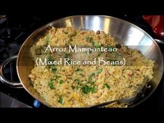 How to Make Arroz Mamposteao (Mixed Rice and Beans)