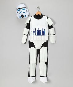 Take a look at this White Storm Trooper Light-Up Dress-Up Set - Kids by Star Wars on #zulily today!