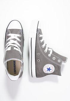 06166818b702 Converse CHUCK TAYLOR ALL STAR - High-top trainers - charcoal - Zalando.co