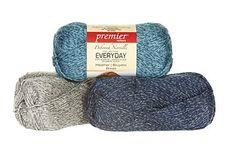 Deborah Norville Everyday® Soft Worsted Heathers Yarn