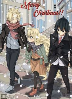 Larcade Dragneel, Mavis Vermilon and Zeref Dragneel (Fairy Tail) - by Fairy News