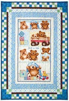 Free pattern for fabric panel quilt