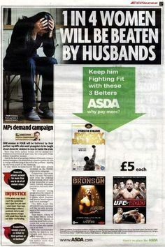 #Badvertising rule n°18 : thou shalt fail placement in press too.