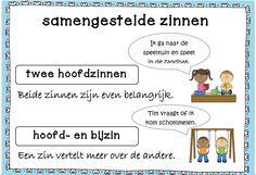Samengestelde zinnen Learn Dutch, Classroom Language, Jokes, Learning, Kids, Children, Flow, Bb, Dyslexia