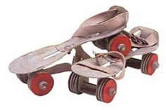 roller skates...ahhh, the good old days!  so much fun!