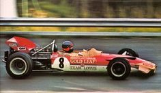Emerson Fittipaldi, Osterreichring 1970, Lotus 49C