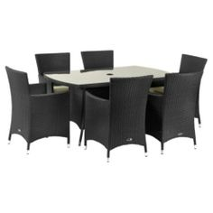 buy royalcraft cannes rect dining set 6 carvers brown from our rattan garden furniture range at tesco direct we stock a great range of products at