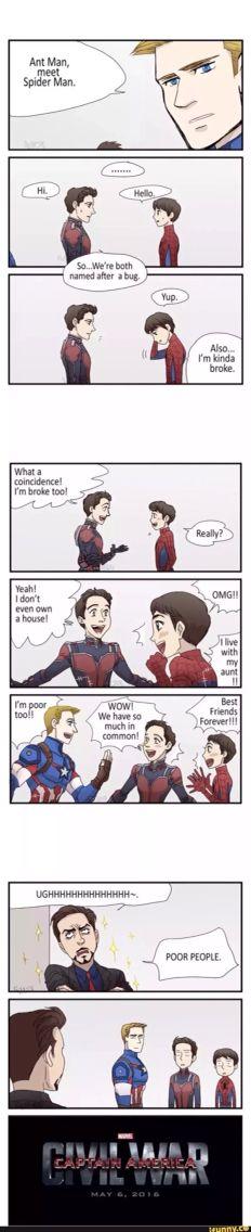 Ant-man meets Spider man