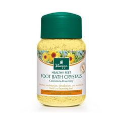 Revitalize, moisturize, deodorize and cleanse tired feet from the day to day stresses with this foot soak. Calendula is incredibly healing to skin and Rosemary stimulates and helps with restless legs.