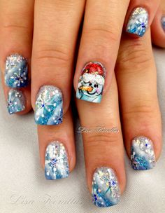 cute winter nails                                                                                                                                                                                 More