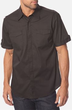 7 Diamonds 'Body & Soul' Woven Sport Shirt available at Nordstrom