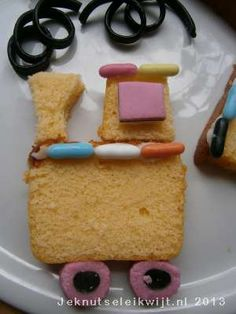 Trein van cake
