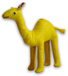 Stuffed animal camel  free PDF pattern 1 of 2