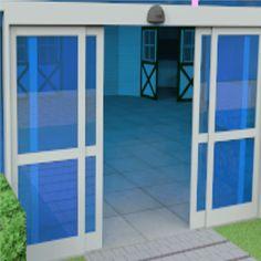 Automatic opening door
