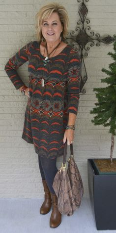 50 IS NOT OLD | YARD SALE FINDS | Tunic | Leggings | Fashion over 40 for the everyday woman #fashionover50womenfiftynotfrumpy