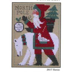 Santa 2017. Gráfico de The paririe Schooler en www.lacasinaroja