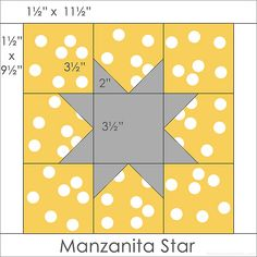 Star block for my Manzanita Star quilt | Flickr - Photo Sharing!
