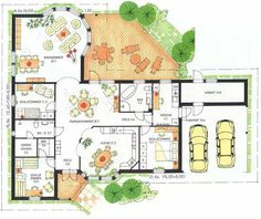 Architectural Floor Plans, Interior Architecture, Building A House, House Plans, How To Plan, Sims, Construction, Home Decor, Log Projects
