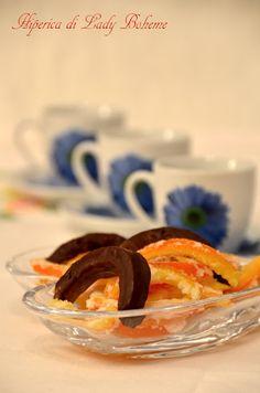 Italian food - Scorzette d'arancia candite