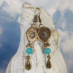 Water Goddess Earrings by MySoulCanDance.etsy.com