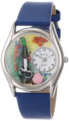 Whimsical Watches Women's S0810014 Scuba Diving Black Skin Leather Watch Whimsical Watches, WOMEN'S WATCHES  if you wish to buy just CLICK on AMAZON right HERE http://www.amazon.com/dp/B00148TUFS/ref=cm_sw_r_pi_dp_YELQsb0QDSVE6WP2