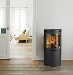Hwam 3120 #KernowFires #Hwam #fireplace #woodburner #stove #cornwall #contemporary #freestanding #kernowfires