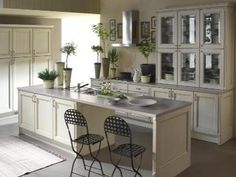 [ Your Home Improvements Refference European Kitchen Cabinet Sizes Renovation Renderings Style ] - Best Free Home Design Idea & Inspiration Classic White Kitchen, Kitchen Cabinet Doors, Kitchen Remodel, Kitchen Decor, Green Kitchen Cabinets, Rustic Kitchen, Country Bedroom Furniture, Kitchen Design, Tall Kitchen Cabinets