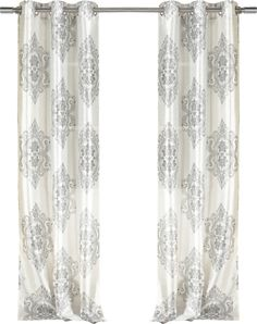 Frame your living room picture window or add an elegant touch to the master suite with this semi-sheer curtain, crafted from faux silk and showcasing a damas. Mid Century Modern Furniture, Midcentury Modern, Living Room Pictures, Joss And Main, Drapes Curtains, Modern Decor, Elegant, Master Suite, Crafts