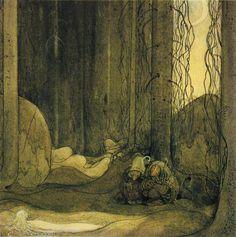The_changeling,_John_Bauer,_1913