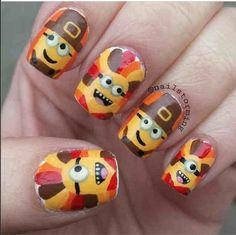 Despicable Me 2. Minions nails
