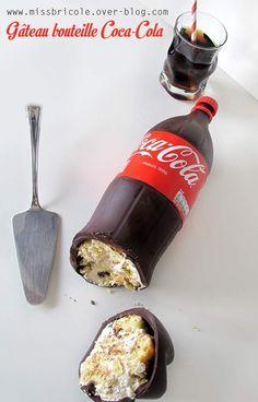 Tuto: Gâteau bouteille de Coca Cola