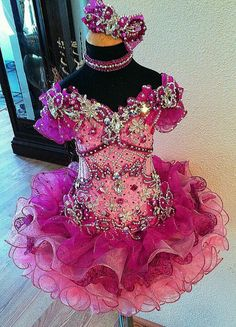Custom Creations by Connie Pagent Dresses For Kids, Toddler Pageant Dresses, Glitz Pageant Dresses, Little Girl Pageant Dresses, Princess Tutu Dresses, Pageant Wear, Beauty Pageant, Princess Cadence, Up Girl