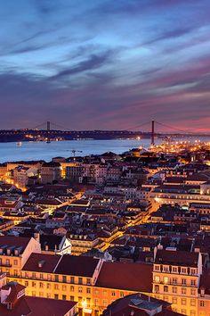 Lisbon at Dusk by Joel Santos