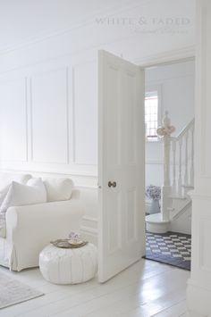 white & faded elegance