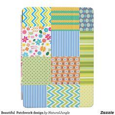 Beautiful  Patchwork design iPad Air Cover