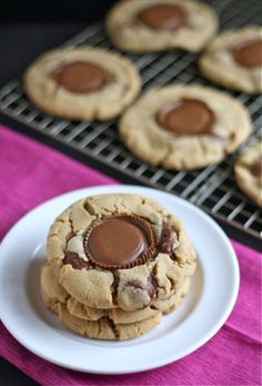 Reese's Peanut Butter Cup Cookies Recipe on Yummly. @yummly #recipe