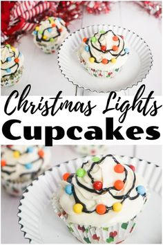 Easy Christmas Lights Cupcakes Recipe Easy Christmas Lights Cupcakes Recipe Vicky from Mess For Less Easy RecipesBreakfast Recipes Kids ActivitiesLearning Activities Parenting Tips and more vickycat nbsp hellip Cupcake lights Light Cupcake Recipe, Easy Cupcake Recipes, Baby Food Recipes, Easy Recipes, Simple Christmas, Christmas Lights, Christmas Christmas, Handmade Christmas, Christmas Cupcakes Decoration