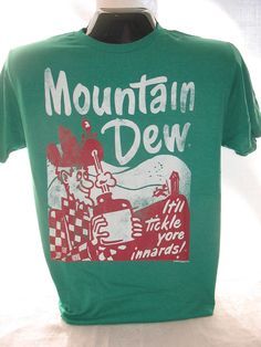 this is one of the cooler Dew shirts i've seen