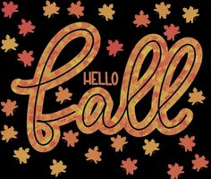 Hello Fall with Leaves by elephantshoecor   Redbubble   Fall Decor   Autumn Decor   Fall Leaves   Digital Art   Procreate Art   iPad Art   Elephant Shoe Corner   ElephantShoeCorner Small Leaf, Ipad Art, Hello Autumn, Fall Leaves, Greeting Cards Handmade, Top Artists, Diy Bedroom Decor, Hand Lettering, Fall Decor