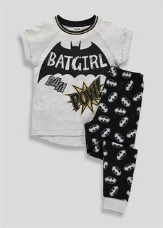 Girls Batgirl Pyjamas (9-16yrs)